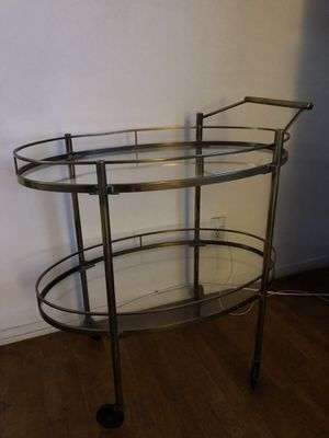Authentic Maxwell Phillips bar cart for Sale in Houston, TX