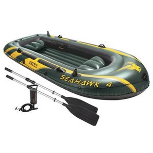 Intex Seahawk 4-Person Inflatable Boat for Sale in Springtown, TX