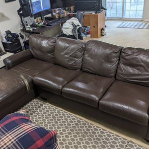 American Leather-Sectional Leather Couch for Sale in Newcastle, WA