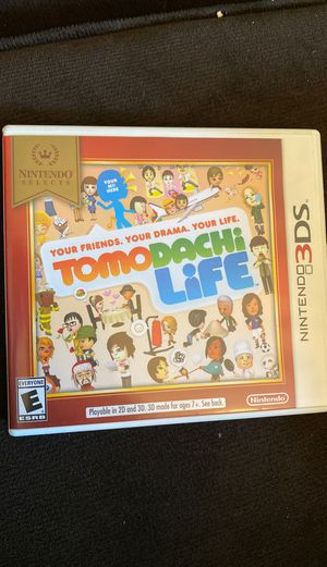 Tomodachi life Nintendo 3DS game rarely used for Sale in El Cajon, CA