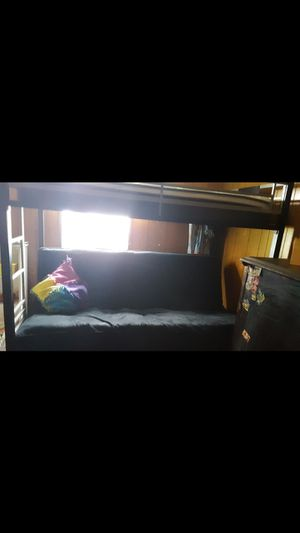 Futon bunk bed for Sale in Lockport, NY