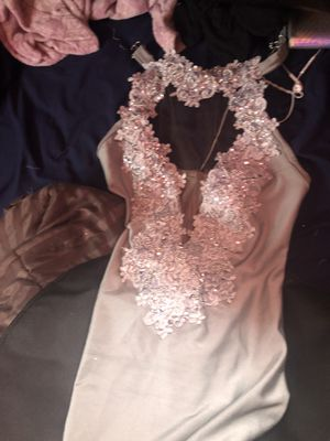 Silver/White Prom Dress for Sale in St. Louis, MO