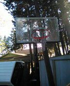 Basketball hoop for Sale in Apple Valley, MN