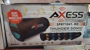 AXESS Bluetooth speaker PICK UP ONLY for Sale in Fresno, CA