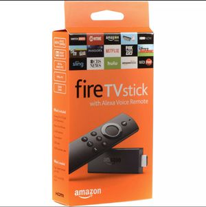 Amazon fire tv stick with Alexa voice remote 4k 2nd Gen for Sale in Queens, NY