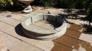 Cement ring for Garden, planter for Sale in Jamul, CA