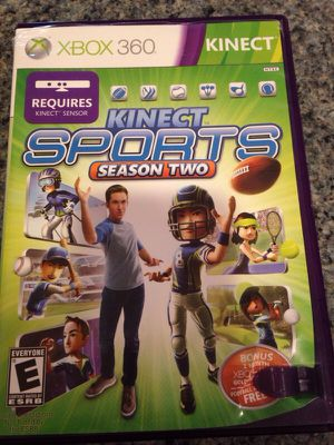 Xbox 360 Kinect sports season two game for Sale in North Bethesda, MD