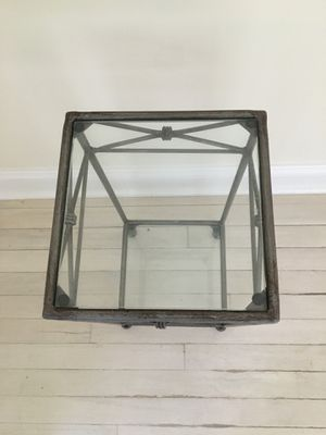 Pewter accent table for Sale in Eastchester, NY