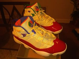 Jordan red /white 6 rings for Sale in Baltimore, MD