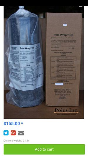 Pole wrap for Sale in Salt Lake City, UT