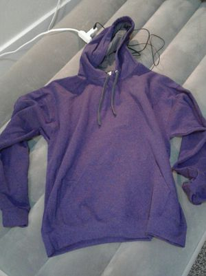 brand new never used fruit of the loom Heather purple hoodie for Sale in Price, UT