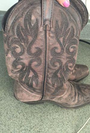 Laredo all leather women's boots size 7 like new worn twice for Sale in Ellenton, FL