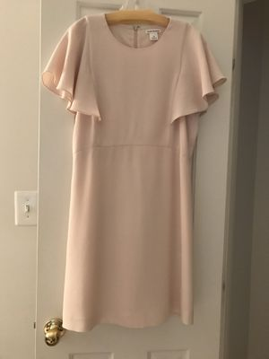 Summer blush color dress with matching shoe for Sale in Potomac Falls, VA
