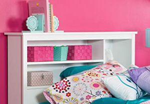 New!! Pure White Headboard,bookcase headboard,twin headboard,kids room,headboard for Sale in Phoenix, AZ