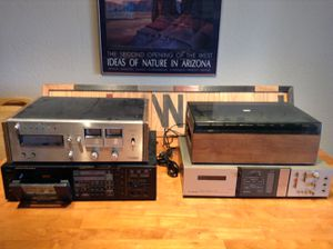 Lot of Vintage Cassette/8-Track Players for Parts/Repair for Sale in Scottsdale, AZ