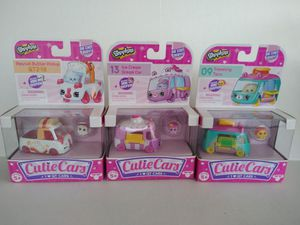 3 Sealed Shopkins Cutie Cars for Sale in Tampa, FL
