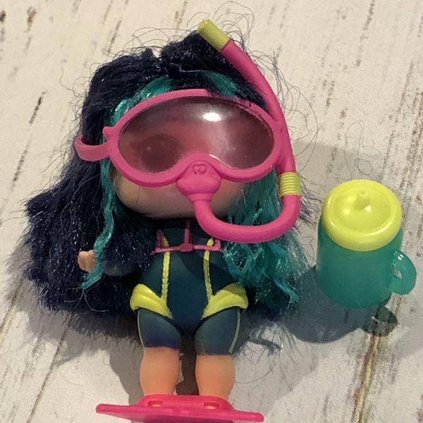 LOL Surprise Doll Hairvibes SCUBA GIRL BABE