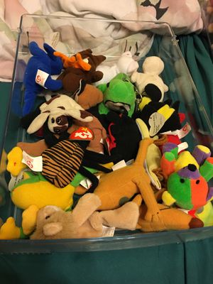 Pack of mini Beanie Babies for Sale in Gainesville, VA