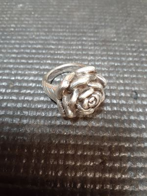 Sterling Silver .925 Flower Ring Size 8 for Sale in Hillsboro, OR