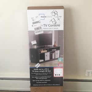 50 Inch Tv Stand, Still In Box for Sale in Brentwood, MD