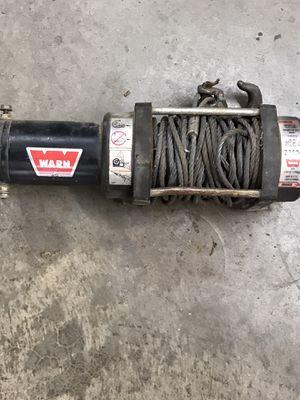 Warn winch 3500 Polaris ate ranger gator Kubota for Sale in Fort Worth, TX