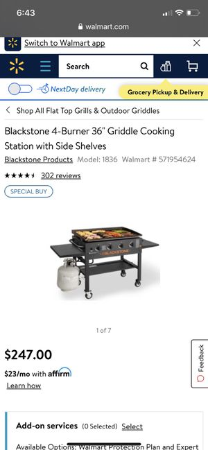 Blackstone griddle . Bbq. Clean 150 for Sale in Placentia, CA