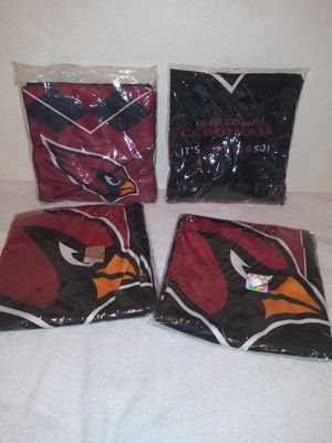 Arizona Cardinals Official Authentic Team Spirit Apparel Scarves (set of 4) for Sale in El Mirage, AZ