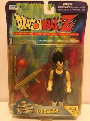 Dragonball Z Vegeta Series 7 Figure for Sale in Queens, NY