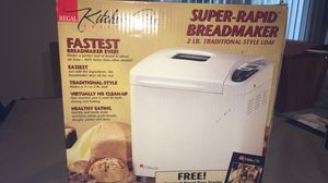 New In box regal kitchen pro super rapid bread maker 2 pound traditional style loaf for Sale in Rochester Hills, MI