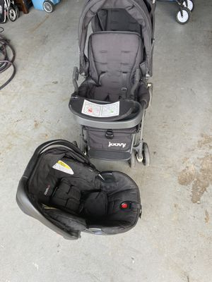 Joovy double stroller and Britox car seat for Sale in Santee, CA