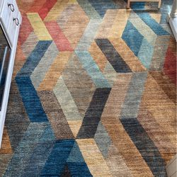 Geo Multi-Color Rug for Sale in Peyton,  CO