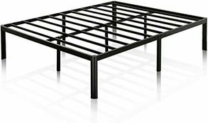New! Queen Zinus 14 Inch Classic Metal Platform Bed Frame with Steel Slat Support / Mattress Foundation for Sale in Boiling Springs, SC