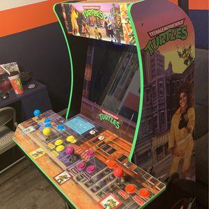 Arcade 1up Teenage Mutant Ninja Turtle With Stand for Sale in El Cajon, CA