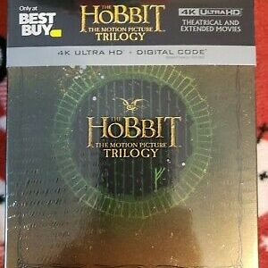 The Hobbit: The Motion Picture Trilogy [Extended/Theatrical] [SteelBook] [4K Ultra HD Blu-ray] for Sale in Portland, OR