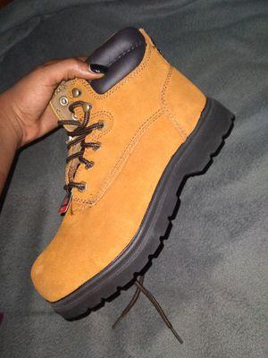 Steel Toe work boots men's 7 women's 8 ½ for Sale in Jacksonville, FL