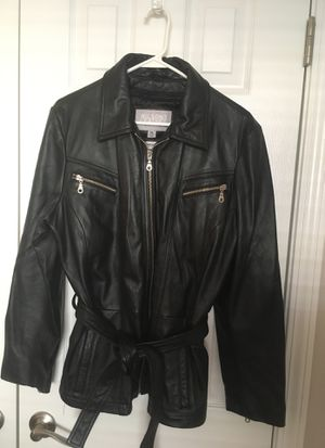 Wilson's women's Black Leather Jacket for Sale in Apex, NC