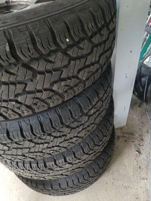 275/65/18 tires like new /275/65/18 llantas como nuevas for Sale in Baltimore, MD
