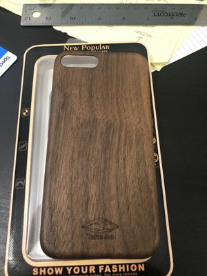 Real wood iPhone 7/8 plus case for Sale in Pasadena, CA