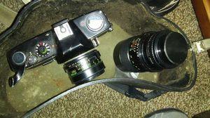 Vivitar 250 SL+ 3 Lenses for Sale in Las Vegas, NV