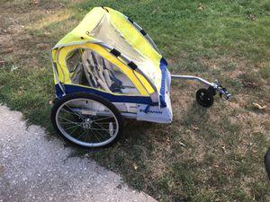 Schwinn 2 seater bike trailer w jogging bar for Sale in Linthicum Heights, MD