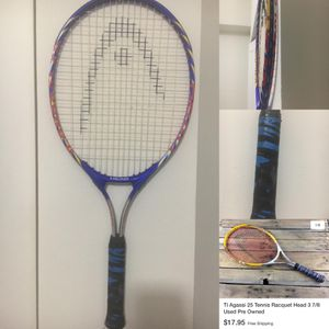 Used Ti Agassi 25 Tennis Racket for Sale in Miami, FL