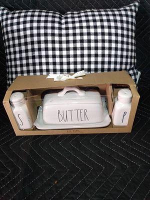 """Rae Dunn """" Butter, salt, and pepper"""" set for Sale in Bellflower, CA"""