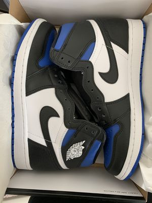 BRAND NEW AIR JORDAN 1 ROYAL TOE SIZE 9 $260!! for Sale in Escondido, CA