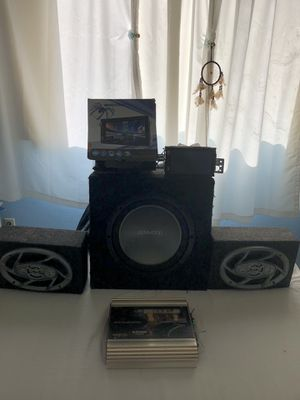Complete car stereo system for Sale in Los Angeles, CA
