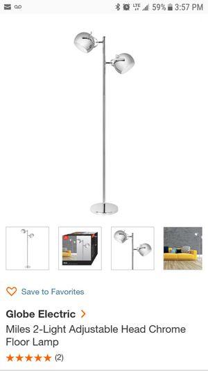 Crime floor lamp for Sale in Stockton, CA