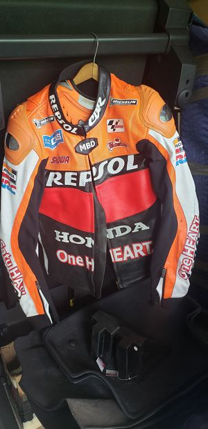Honda Repsol Leather Motorcycle Jacket for Sale in Stoughton, MA