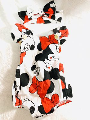 12/18mo Minnie summer romper set for Sale in National City, CA