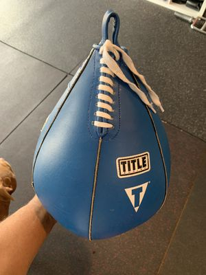Leather speed bag for Sale in Inglewood, CA