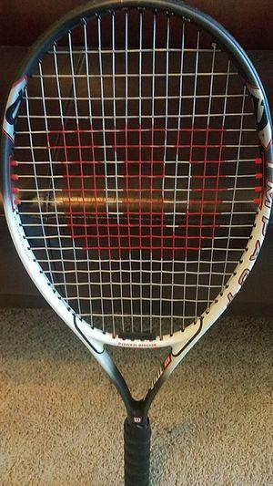 Tennis racket Wilson titanium impact for Sale in Sandy, UT