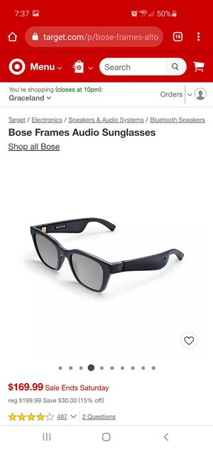 Bose frames audio sunglasses for Sale in Galloway, OH